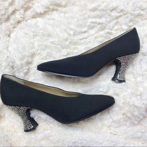 Vintage Yves Saint Laurent Black Heels